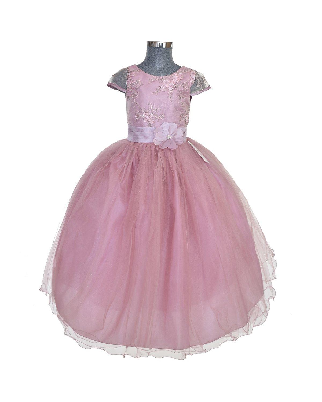 Girl model Rosy dress