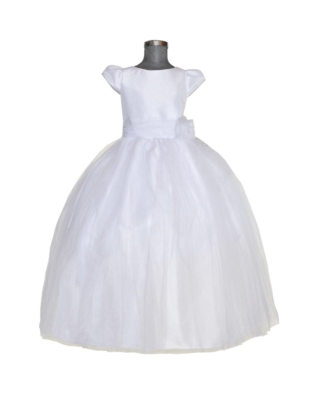 First Communion Dress Rosette Model