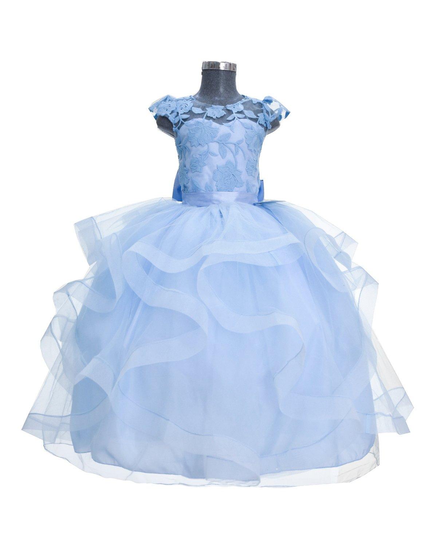 Vestido De Niña Talla Extra Elizabeth Creaciones Maylin